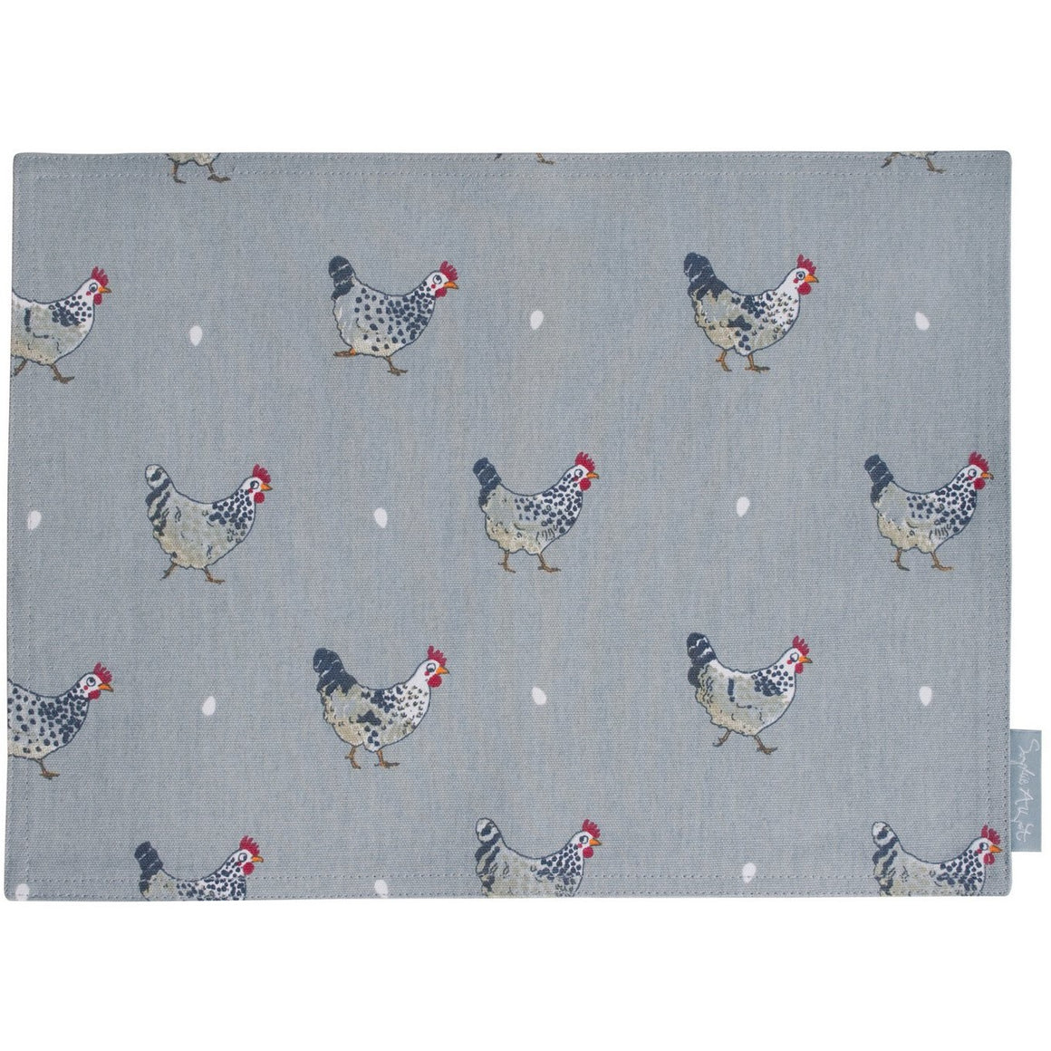 Sophie Allport Chicken Fabric Placemat