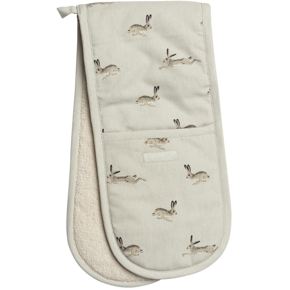Sophie Allport Hare Double Oven Glove