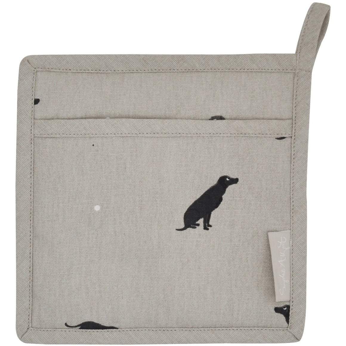 Sophie Allport Black Lab Pot Grab