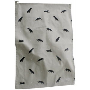 Sophie Allport Black Lab Tea Towel