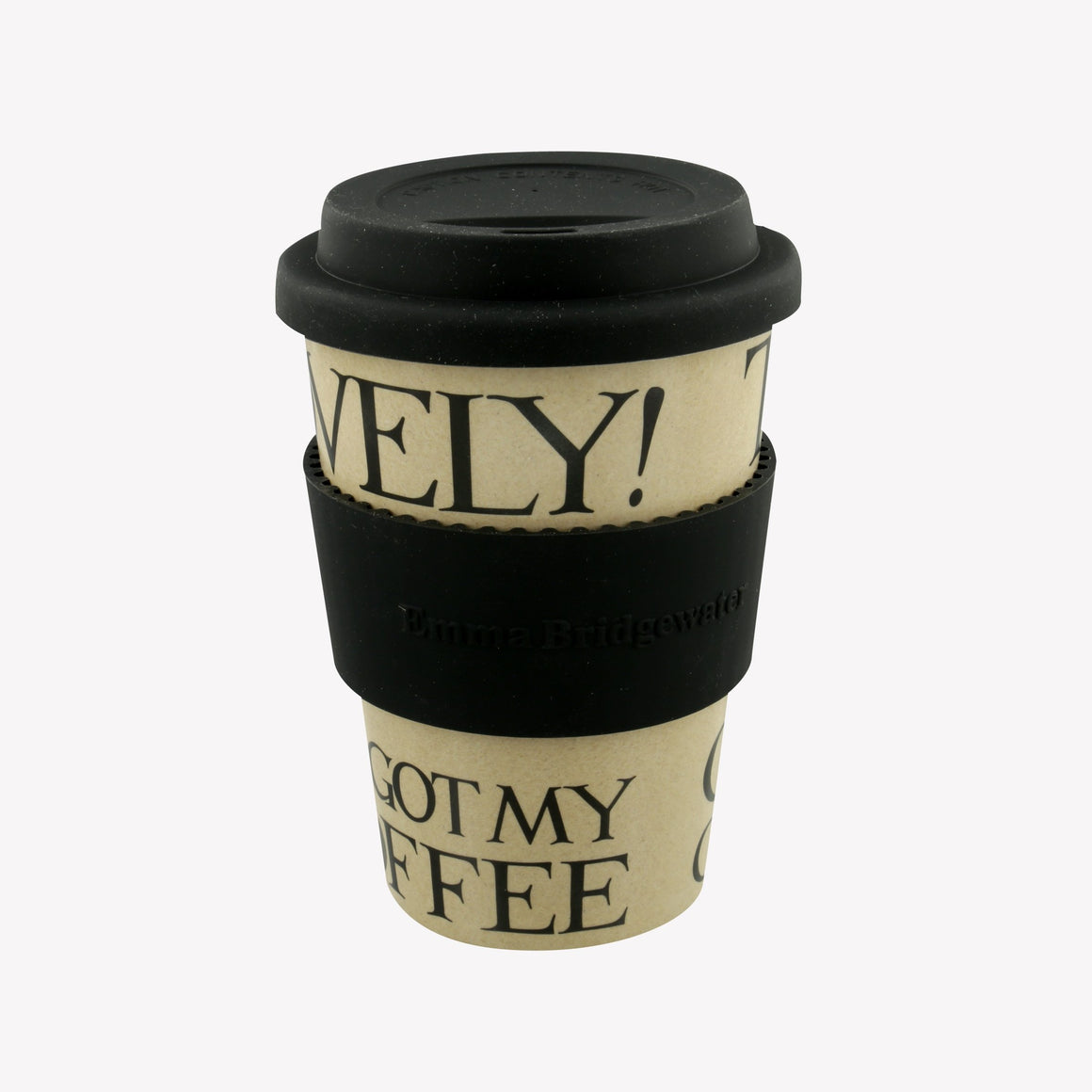 Emma Bridgewater Black Toast Travel Cup