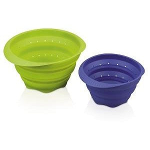 Large Silicone Collapsible Colander