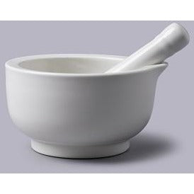 Large White Pestle & Mortar