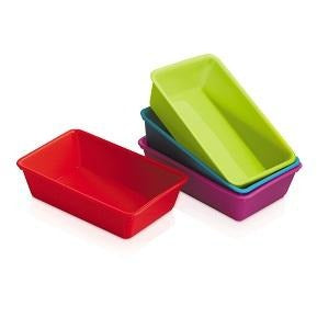 Silicone Mini Loaf Pans Set of 4
