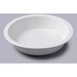 Large Round Plain Pie Dish