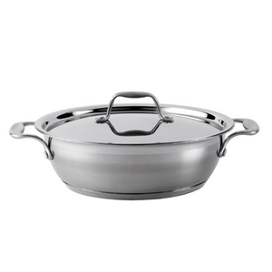 Supreme 26cm Stainless Steel Chef's pan