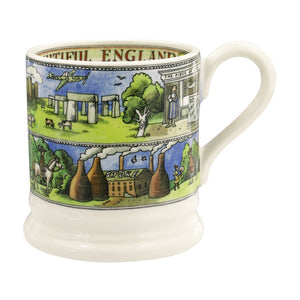 Emma Bridgewater Beautiful England Half pint Mug
