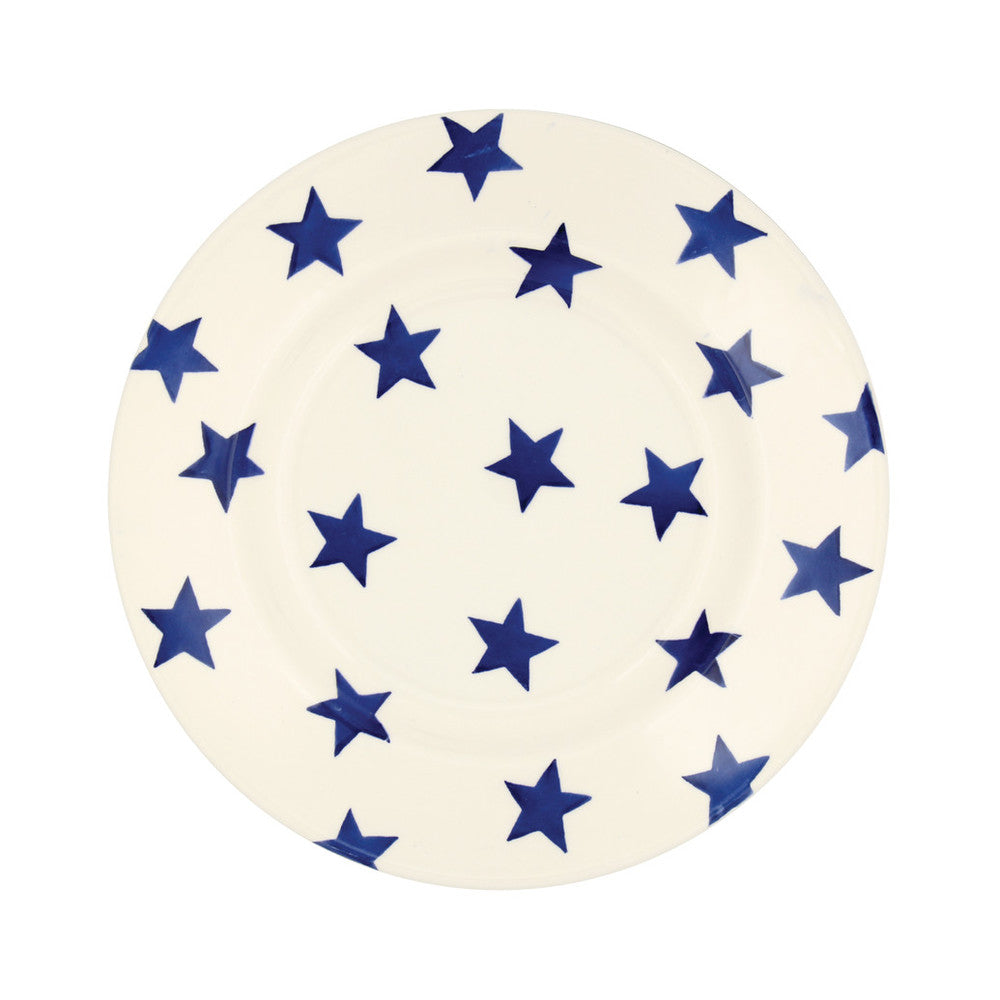 "Emma Bridgewater Blue Star 8.5"" Plate"