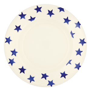 "Emma Bridgewater Blue Star 10.5"" Plate"