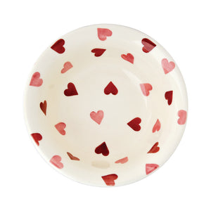 Emma Bridgewater Pink Hearts Cereal Bowl