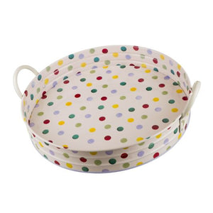 Emma Bridgewater Polka Dot Large Handled Tray