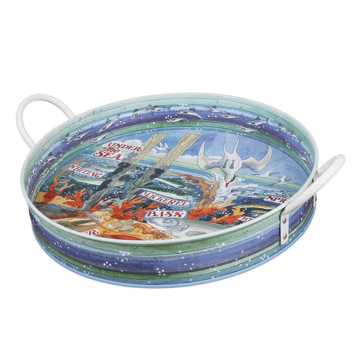 Emma Bridgewater Under The Sea Large Handled Tray