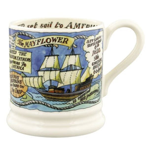 Emma Bridgewater Events of the Mayflower 400 Years Half Pint Mug