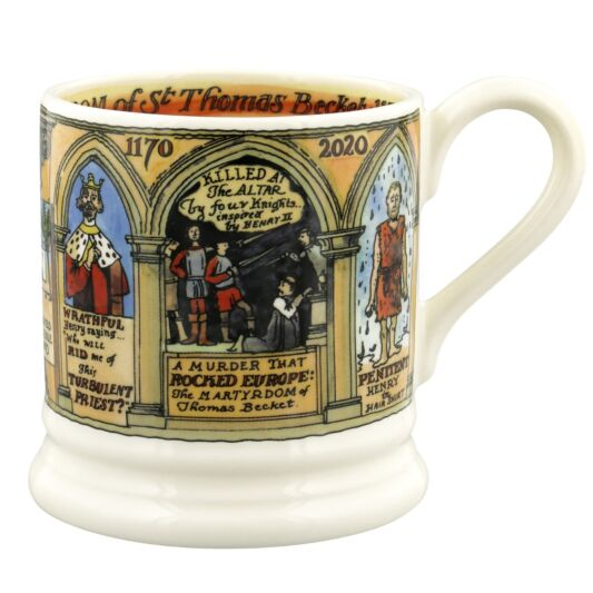 Emma Bridgewater Thomas Becket Half Pint Mug