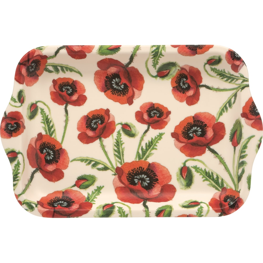Emma Bridgewater Poppy Small Melamine Tray