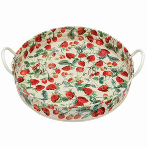 Emma Bridgewater Strawberries Large Handled Tray