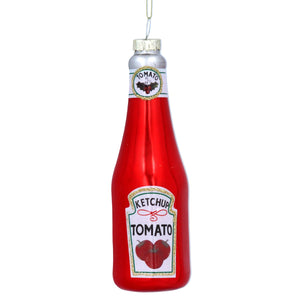 Tomato Ketchup Bottle Decoration