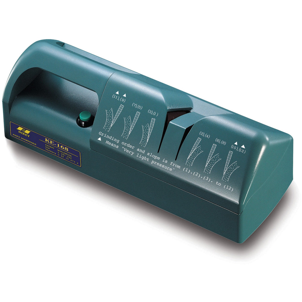Knife Wizard Green Electric Sharpener