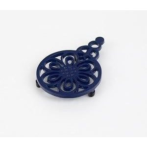 Small Blue Bee Trivet