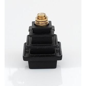 Metric Black & Brass Weights