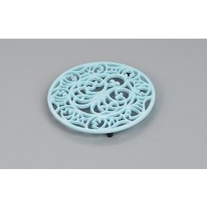 Pale Blue Octopus Trivet