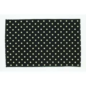 Simone Black Spot Tea Towel