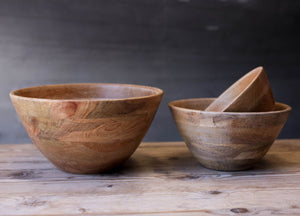 Nkuku Indus Medium Mango Wood Bowl