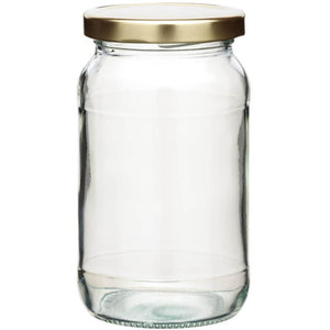 Kitchen Craft 2Lb Round Jam Jar with Twist-off Lid