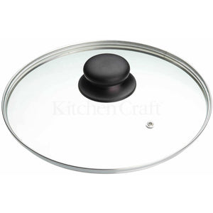 Kitchen Craft 28cm Glass Lid