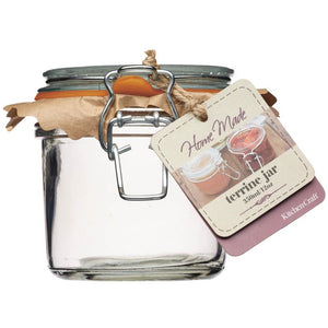 Kitchen Craft Glass 350ml Terrine Jar