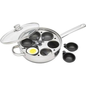 Kitchen Craft 6 Hole Egg Poacher