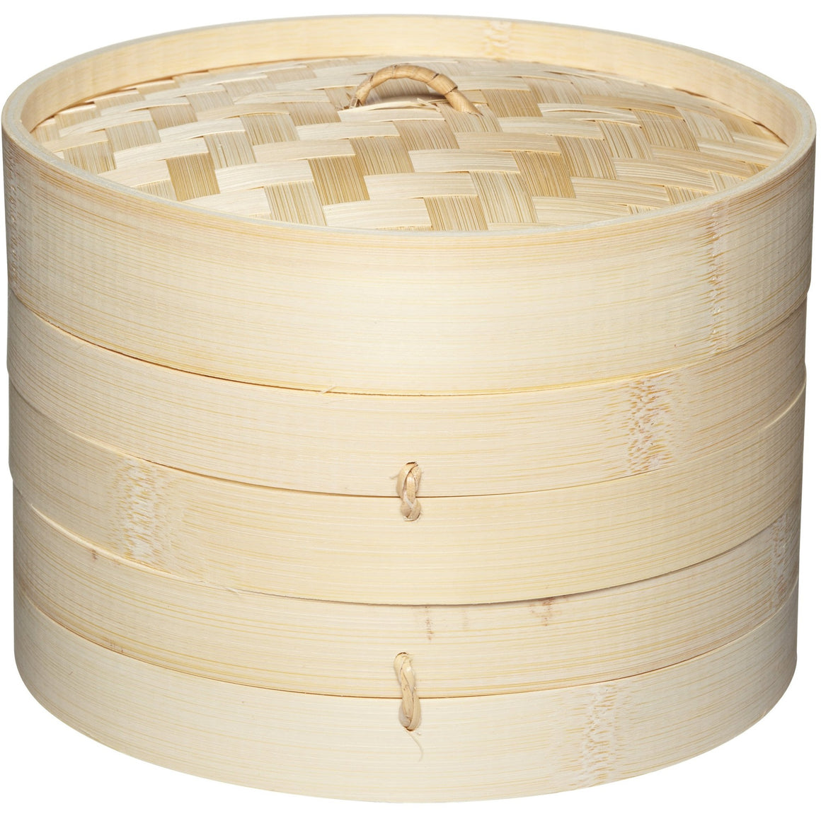 Kitchen Craft Two Tier Bamboo Steamer and Lid