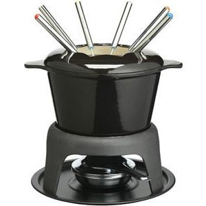 Kitchen Craft Black Fondue Set
