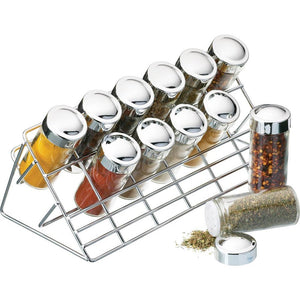 Kitchen Craft Home Made Chrome Plated Spice Rack