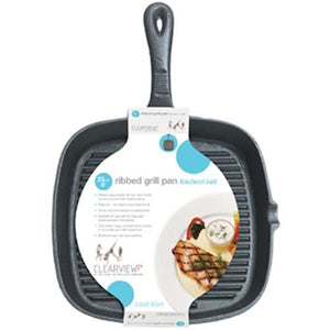 Kitchen Craft Cast Iron Square Grill