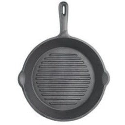 Kitchen Craft Cast Iron Round Grill