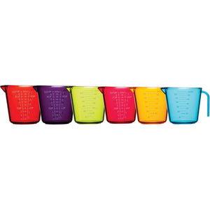 KitchenCraft Colour Measuring Jugs