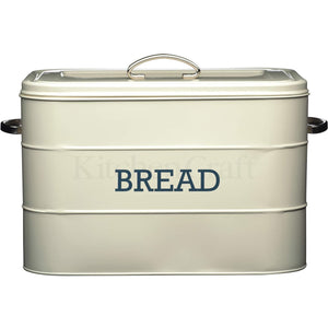 Kitchen Craft Cream Bread Bin
