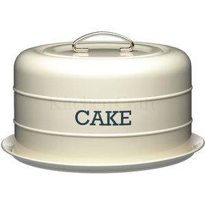 Kitchen Craft Domed Cake Tin Cream