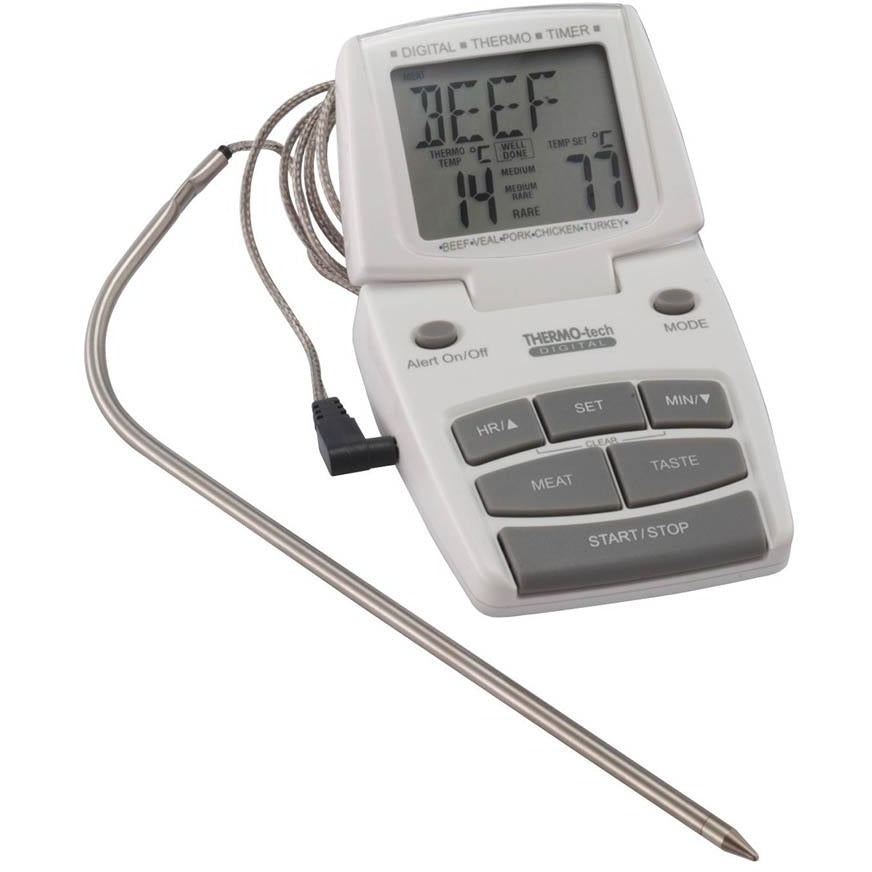 Kitchen Craft Digital Probe Thermometer and Timer