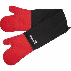 KitchenCraft Red Silicone Oven Glove