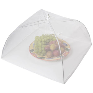 "Kitchen Craft 30cm (12"") White Umbrella Food Cover"