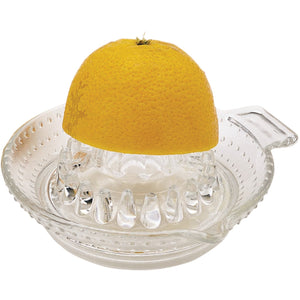 Kitchen Craft Glass Lemon Squeezer
