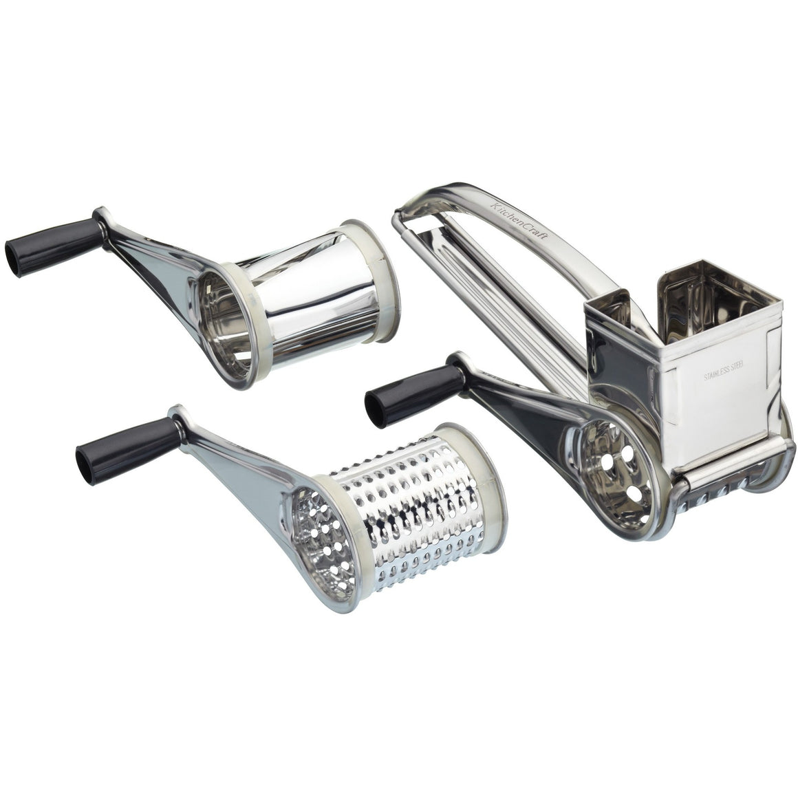 Kitchen Craft Grater With 3 Drums