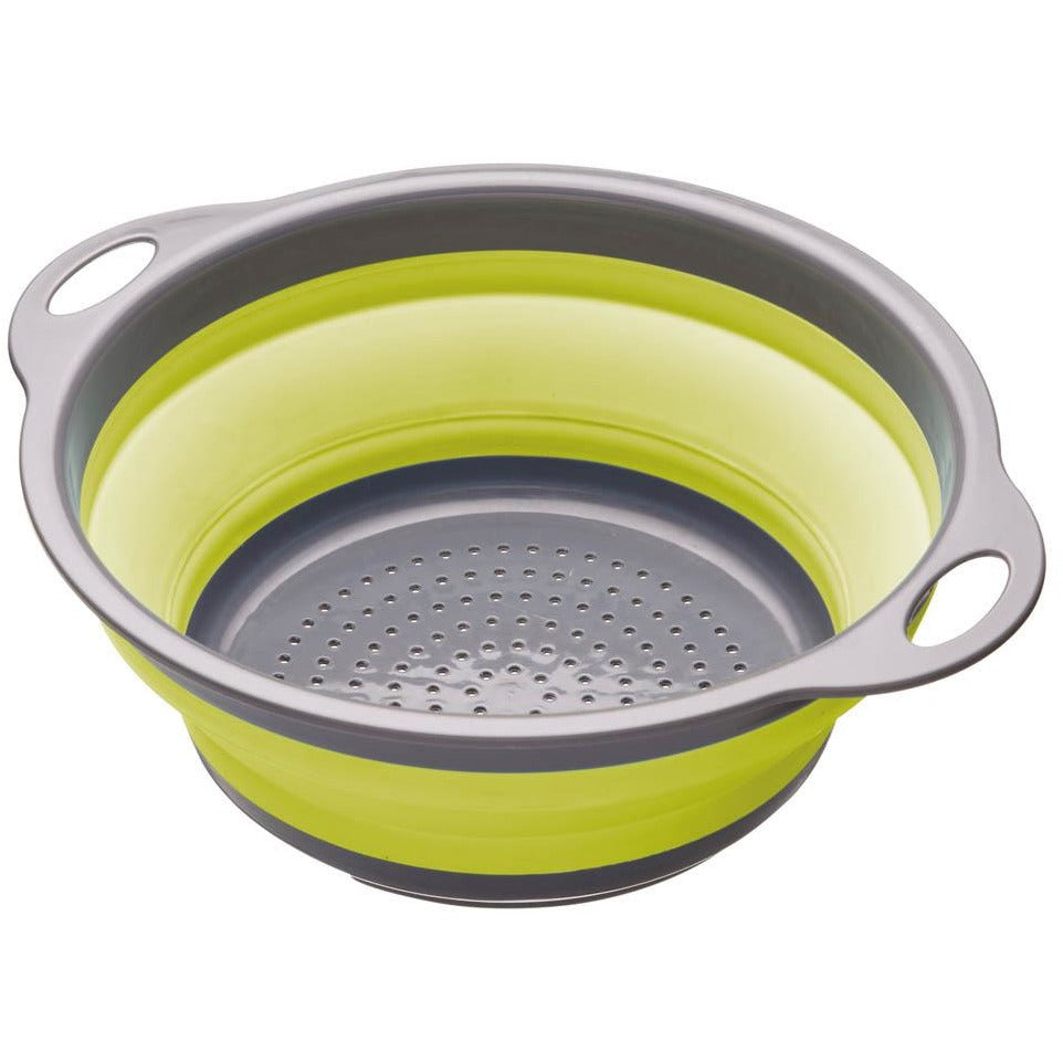 KitchenCraft Green Collapsible Colander
