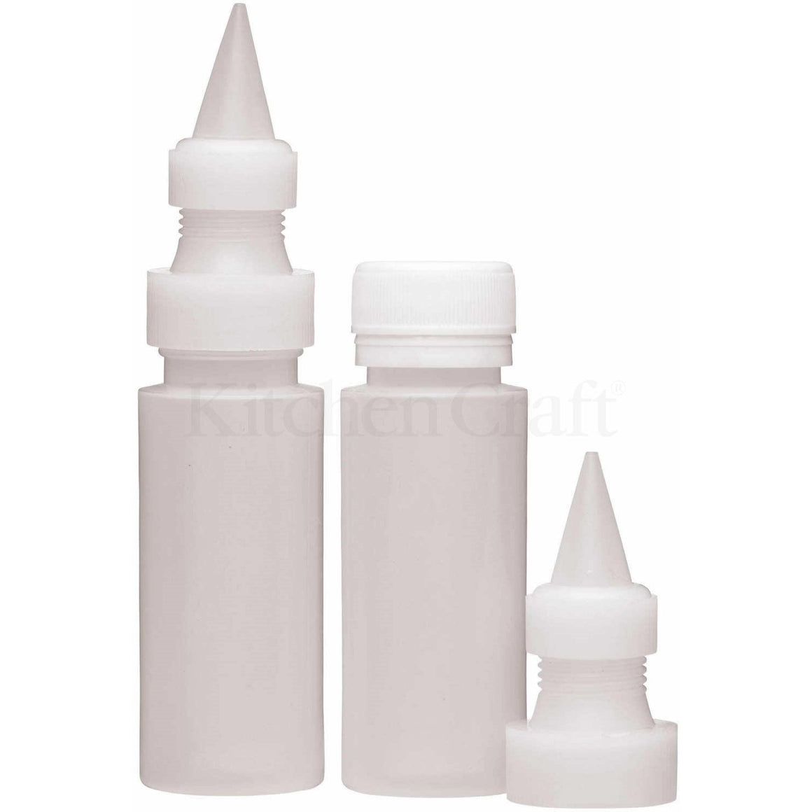 KitchenCraft Fine Icing Bottles