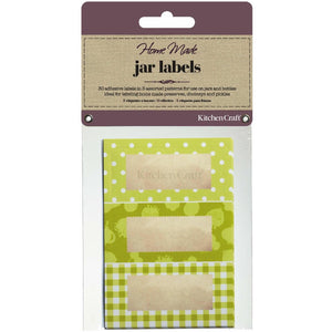 KitchenCraft Lime Labels