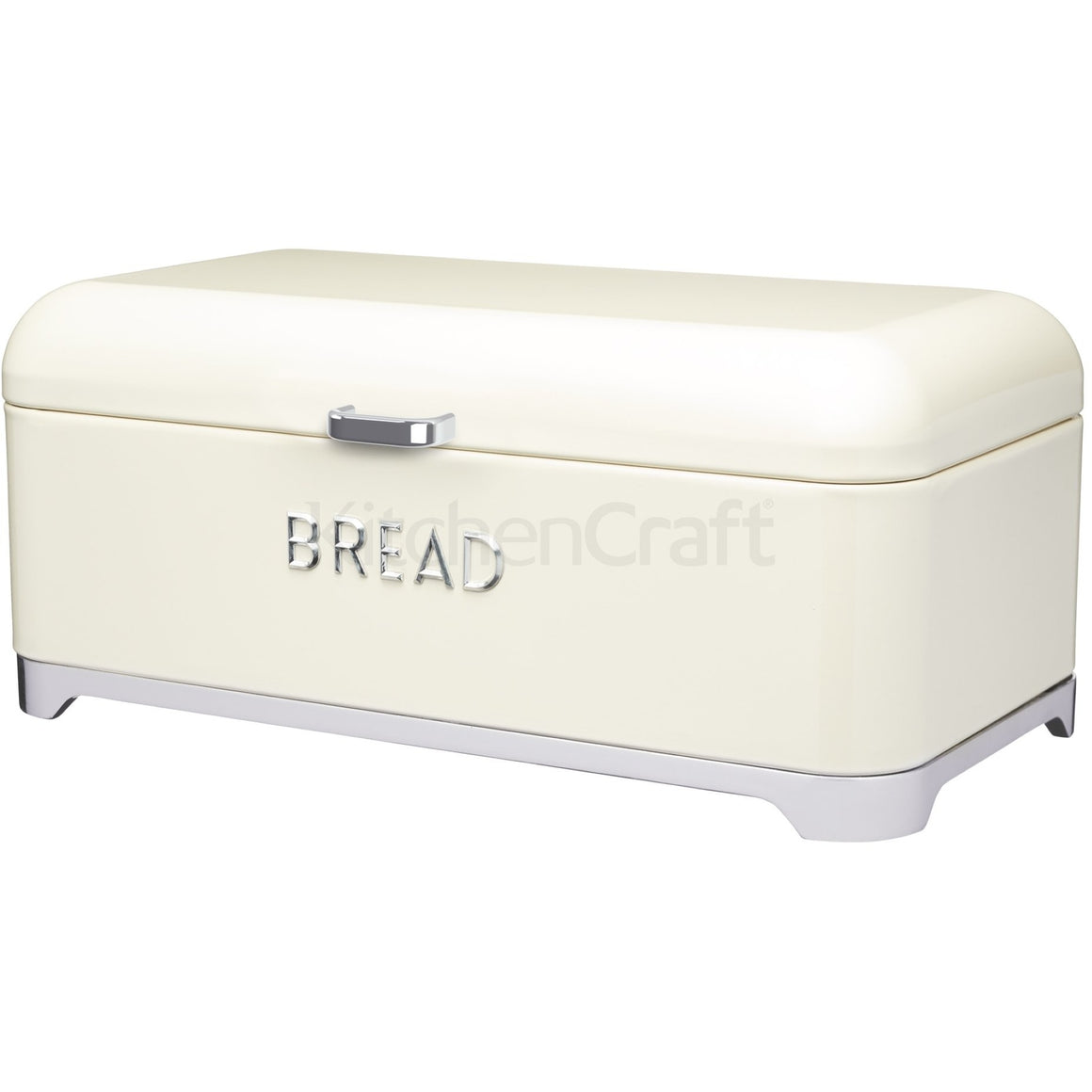 KitchenCraft Lovello Bread Bin Cream