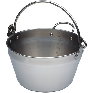 Kitchen Craft Mini Maslin Pan 4.5 Litre