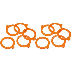 Kitchen Craft 10 Spare Terrine Jar Sealing Rings